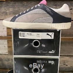 Alexander Mcqueen Par Puma Street Climb Chaussures Low Gris Noir Rose Rare Sz 9 Withbox