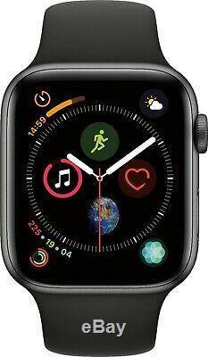 Apple Montre Série 4 Gps + Cellulaire 44mm Ou 40mm Noir Ou Rose Bracelet