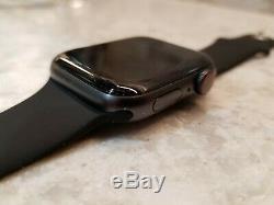 Apple Montre Série 5 44mm 40mm Espace Gris Bande Noire Lte + Gps