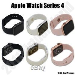 Apple Watch Series 4 40 MM Et 44 MM - Gris Espace / Or Noir / Argent Rose (gps)