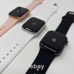 Apple Watch Series 5 40mm Cellulaire + Gps Argent Espace Gris Or Bon B-grade