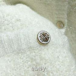 Auth Maje Fancy Lurex Knit Cardigan Sweater Bleu/rose/blanc/noir/gris 36,38,40