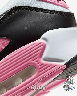 Authentique Nike Air Max 90 White Grey Rose Pink Black Og Off Cd0881-101