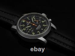 Aviator I Poljot Chronograph 3133/6971314 Ensemble De Collecteurs Complets Us