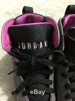 Baskets Air Jordan 7 Retro 30ème Gg En Noir, Gris Et Rose