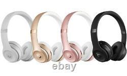 Beats D'apple Authentiques Par Dr. Dre Solo 3 3.0 Casques Sans Fil Bandeau