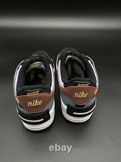 Brand New Nike Air Force 1 Low Ombre W Noir / Rose / Sarcelle / Bleu / Gris Ds Sz 9