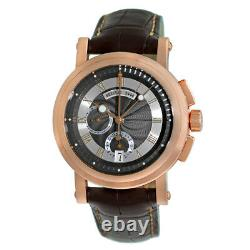 Breguet 18k Rose /pink Gold 42mm Marine Chronograph 5827br Garantie Boîte Minty