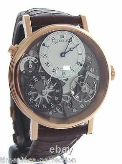 Breguet Tradition Gmt Manual Wind 40mm 7067br Montre Rose Or