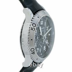 Breguet Type XXI Flyback Chronograph 3810 Ss Ruthenium Dial Auto Men Watch 43mm