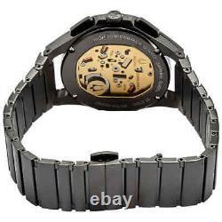 Bulova Curv Chronographe Quartz Cadran Noir Montre Homme 98a207