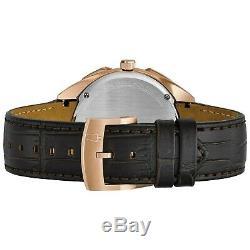 Bulova Curv Homme Quartz 97a124 Chronographe Or Rose Ton Cas De 45mm Montre