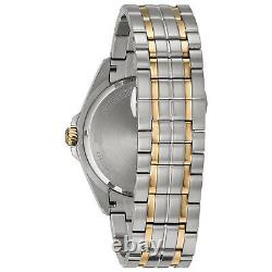 Bulova Hommes Quartz Precisionist Date Calendrier Cadran Gris 42mm Montre 98b273