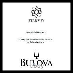 Bulova Marine Star Collection 200m En Acier Inoxydable Homme Montre 98a228