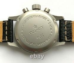 Buran Russian Watch Chronographe 3133/6503575 Poljot