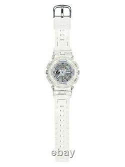 Casio Baby-g Shock Ba110cr-7a Clear White Analog Digital 100m Ladies Watch