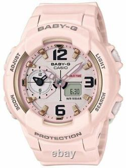 Casio Baby-g Shock Bga230sc-4b Pastel Pink Analog-digital Dual World Time Watch