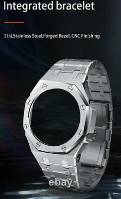 Casio G Shock Ga2100 Casioak Ap Royel Oak Style Bezel & Bracelet / Freeshipping