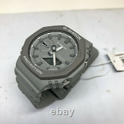 Casio G-shock Casioak Grey Carbon Core 2100 Série Ga2110et-8a Montre Ga-2110