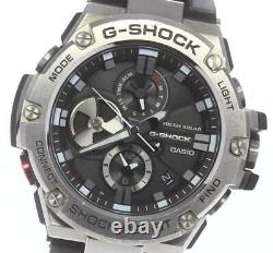 Casio G-shock G-steel Gst-b100 Bluetooth Installé Solar Powered Homme 620709