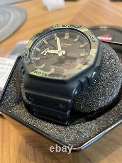 Casio G-shock Ga2100su-1a Carbon Core Guard Casioak Camo Ga2100