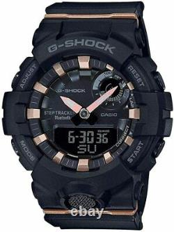 Casio Gma-b800-1a Femmes G-shock Montre G-squad Bluetooth Step-tracker Formation