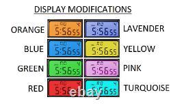 Casio Royale Montre Mod Avec Deux Color Screen Mod, Choisissez Vos Propres Couleurs