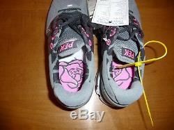 Chaussure De Course À Pied Nike Lunarglide 2 Pek Nano Gris / Noir / Rose Flash Sample Homme Taille 9