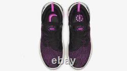 Chaussure De Course Nike Joyride Run Flyknit Pour Homme (taille 9) Rose Gris Noir Aq2730-003