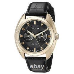 Citizen Bu4013-07h Men's Charcoal Grey Dial Black Strap Watch