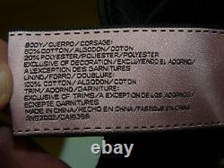 Couture Du Juillet Authentique Sac En Cuir Noir/gris/puits/veau