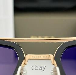 Dita Flight 006 Lunettes De Soleil Rose Gold Black Frame Gray Lenses 7806-e-blk-rgd-52