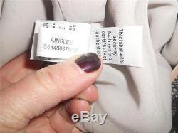 Dvf Diane Von Furstenberg Ainslee Haut Chemisier En Dentelle Moonlight Grey Pink Black $ 245