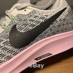 Femmes Nike Air Zoom Pegasus 35 Gris Noir Rose Taille 12 942855-011