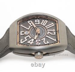 Franck Muller Vanguard Titanium Et Rose Gold V45 Sc Dt Tt Br. 5n Wristwatch