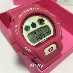 G Shock Dw 6900 Pink White A Baignoire Ape Casio Digtal Montre Rare Menthe Japan