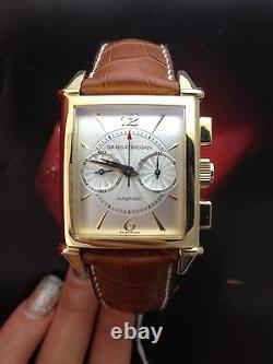 Girard Perregaux 18k Or Jaune Vintage Chronographe Ref 2599 Montre Liste 23 000 $