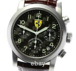 Girard-perregaux Ferrari 8020 Chronograph Date Black Dial Automatic Men's 561135