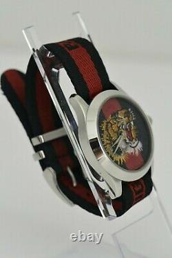 Gucci G Tiger Head Intemporel Ref. 126.4 Montre Quartz 38mm