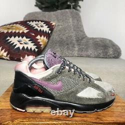 Homme Nike Airmax 180 Taille Dusk Til Dawn Trainers Grey/black/pink Us7/uk6/40