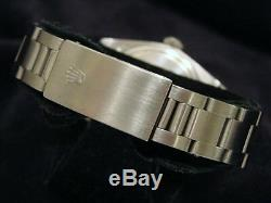 Hommes Rolex Watch Date En Acier Inoxydable Cadran Argenté Oyster Band Quickst Modèle 15000