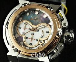 Invicta 46mm Hybrid X-wing Coalition Forces Chronograph Rose Bezel Mop Ss Watch