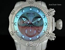 Invicta 52mm Réserve Venom Teinté Gris Cristal Bezel Chronographe Montre-bracelet