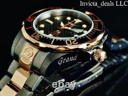 Invicta Homme 47mm Grand Diver Automatique Nh35a Black Carbon Fiber Dial Ss Watch
