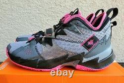 Jordan Why Not Zer0.3 Heartbeat Men's Gray Rose, Black Pink. Taille 9.5 Hommes