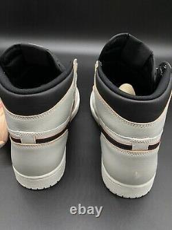 Jordanie 1 High Og Nyc To Paris/smoke Grey/pink/black Sz 13 Cd6578-006