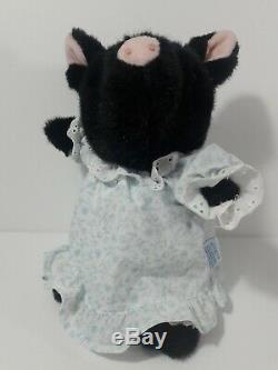 Lot De 4 Peluche Beatrix Potter Eden Black Pig Pink Pig Badger Chat Gris