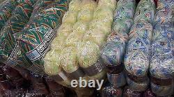 Lot Mixte De Tricot / Crochet De Laine 100 Boules Fil 100g De Dégagement Vente Tous Dk