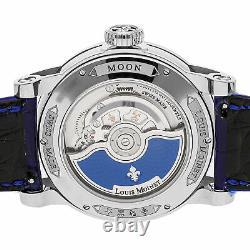 Louis Moinet Moon Limited Edition Auto 43mm Bracelet Homme En Acier Lm-45.10b. Médicaments De Médicament