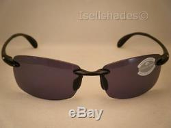 Lunettes De Soleil Costa Ballast Black W Grey 580p Neuves (ba11 Ogp)